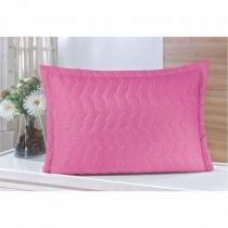 Porta Travesseiro Avulso 01 Peça Pink - Guga - Guga Tapetes