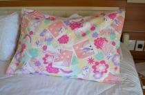 Porta Travesseiro Unicórnio com 3 abas 50cm x 70cm Avulso - Flor d liza