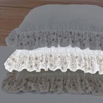 Porta Travesseiro Vintage Creme - Markine - Branco - Sulamita