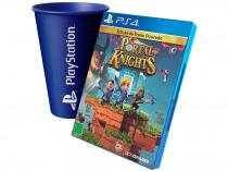Portal Knights para PS4 - 505 Games + Copo PlayStation Azul