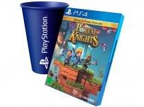Portal Knights para PS4 - 505 Games + Copo PlayStation Azul