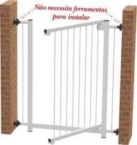 Portão Grade de Segurança para vãos de 70 cm até 1,05 mt  Multiforma -