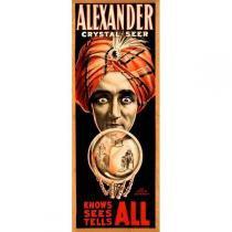 Poster Adesivo  Alexander 70x30 cm - Sunset adesivos