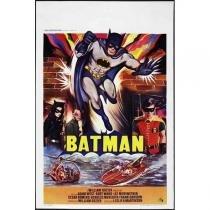 Poster Adesivo  Batman 70x50 cm - Sunset adesivos