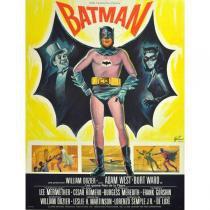 Poster Adesivo  Batman / Pinguim 70x50 cm - Sunset adesivos
