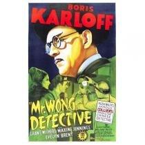 Poster Adesivo  Boris Karlof 70x50 cm - Sunset adesivos