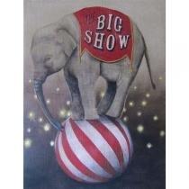 Poster Adesivo  Circus Big Show 70x50 cm - Sunset adesivos