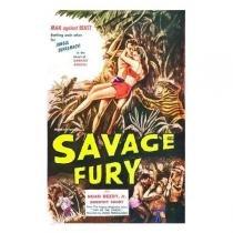 Poster Adesivo  Savage Fury 70x50 cm - Sunset adesivos