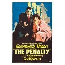 Poster Adesivo  The Penalty 70x50 cm - Sunset adesivos