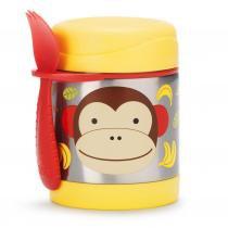 Pote térmico Skip Hop - Linha  Zoo - Coleção Macaco - Skiphop