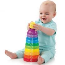 Potinhos Empilhar e Rolar Fisher Price Brilliant Basics - Mattel - Fisher Price