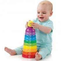 Potinhos Empilhar  Rolar - Brilliant Basics - Fisher-Price - Fisher price