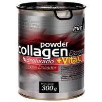 Powder Collagen Hidrolisado + Vitamina C 300g  - Tangerina ProN2