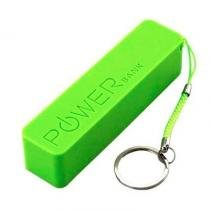 Power Bank Carregador USB Universal Verde 1800MAH - Powerbank