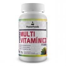 Power Multi Vitamínico Femini - 120 cápsulas - PowerFoods - PowerFoods