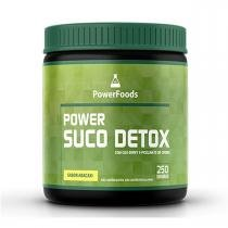 Power Suco Detox - 250 gramas - PowerFoods - PowerFoods