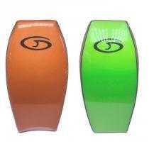 Prancha Miniboard Genesis Laranja com fundo Verde Claro -