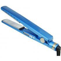 Prancha Nano Titanium 230ºc Bivolt Chapinha 1/4 Até 450ºf Azul - Bk imports