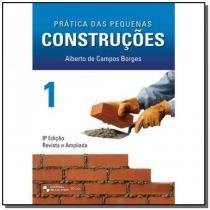 Pratica das pequenas construcoes - vol.1 - Edgard blucher
