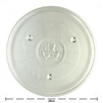 Prato de Micro-ondas Consul  Electrolux  Brastemp Encaixe Trevo 28cm - GreenBelt