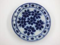 Prato de sobremesa, feito e pintado a mão - Porcelana Monte Sião