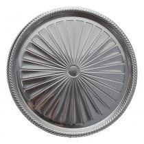 Prato Metalizado Prata B60 328 x 26mm Neoform -