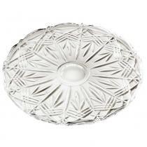 Prato para doces bohemia cristal transparente  ø31cm - Bohemia