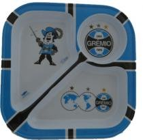 Prato para petisco com 3 divisões do Grêmio - Almix
