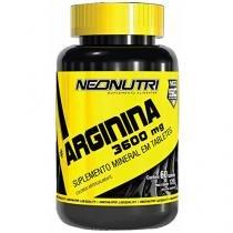 Pré-Treino Arginina 3600 MG 60 Cápsulas - Neo Nutri