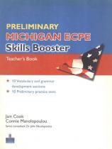 Preliminary michigan ecpe skills booster tb - Pearson (importado)