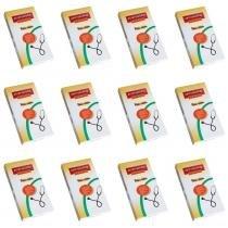 Premium Estetoscópio Duplo (Kit C/12) -