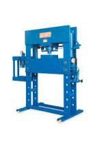 Prensa hidráulica 100 ton + prensa auxiliar 15.000kg manômetro - Bovenau