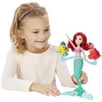 Princesas Disney Boneca Ariel com Acessórios - Hasbro