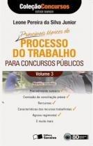 Principais topicos de processo do trabalho para - Saraiva editora