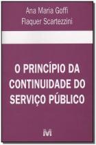 Principio da continuidade do servico publico, o - Malheiros