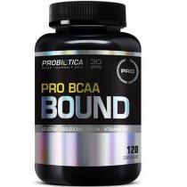 Pro BCAA Bound - 120 Cápsulas - Probiótica -