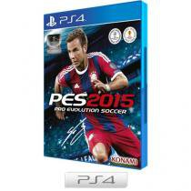 Pro Evolution Soccer 2015 para PS4 - Konami