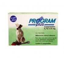 Program Plus 115mg Antipulgas Cães 5 a 11kg Vetoquinol -