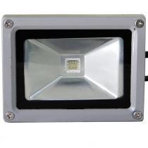 Projetor de Led Kian 10W HI-LED Grau de proteção IP65 Luz RGB Corpo de alumínio - Kian