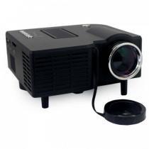 Projetor Mini Led 320 X 240 48 Lumens P/ Filmes E Games Preto Bivolt 20 A 60 Polegadas Uc28 - Mega page