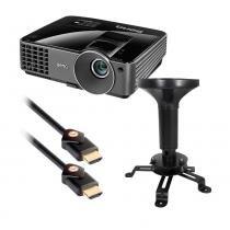 Projetor Multimídia 3D 2700 Lumens MS513PB BENQ + Suporte de Teto e Cabo HDMI 3D 2.44 Metros - Benq