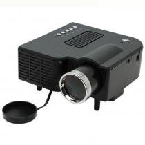 Projetor Uc28 320 X 240 48 Lumens P/ Filmes E Games Mini Led 20 A 60 Polegadas Bivolt Preto - Mega page