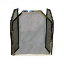 Proteção para Lareira em Inox com Tela Trapézio - Goods br