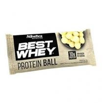 Protein Ball Best Whey - 1 Unidade Chocolate Branco - Atlhetica - Atlhetica nutrition