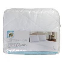 Protetor de Colchão Impermeável Solteiro BedClean Branco - Lynel (25cm) - Lynel