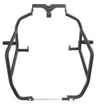 Protetor de motor e carenagem chapam com pedaleiras versys 1000 preto fosco 10129 - Chapam