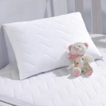 Protetor de Travesseiro Impermeável Bebê Branco - Lynel - Lynel