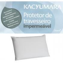 Protetor de Travesseiro Impermeável Malha 100 Algodão Kacyumara -
