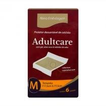 Protetor descartavel de colchao adultcare m c/6 - Adulticare