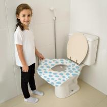 Protetor Descartável para Vaso Sanitário com 12 BB073 - Multikids Baby - Multikids